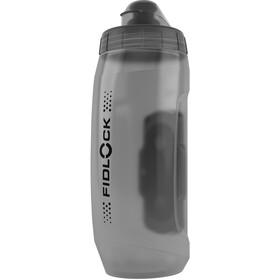 Fidlock Twist Bottle 590 z uchwytem Uni Base, transparent black